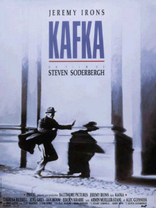 "Poster for the movie ""Kafka"""