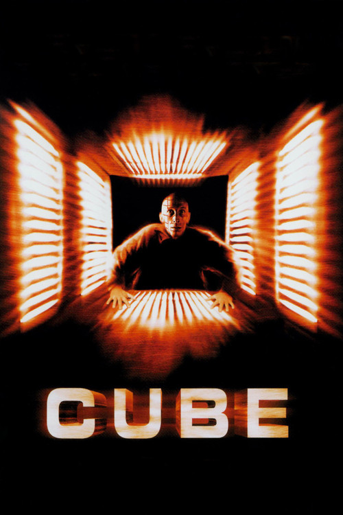 """Poster for the movie """"Cube"""""""
