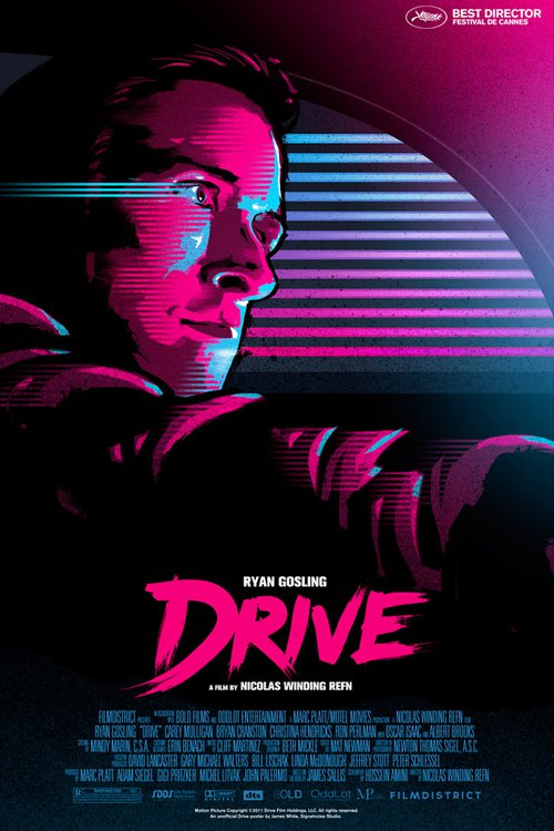 """Poster for the movie """"Drive"""""""