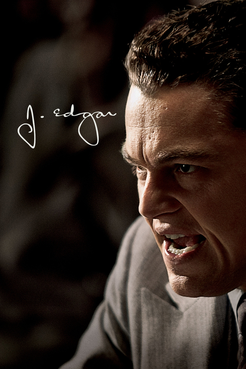 """Poster for the movie """"J. Edgar"""""""