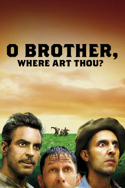 """Poster for the movie """"O Brother, Where Art Thou?"""""""