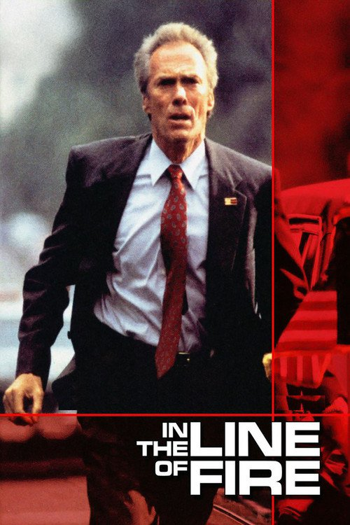 """Poster for the movie """"In the Line of Fire"""""""