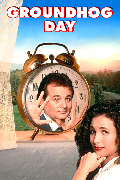 """Poster for the movie """"Groundhog Day"""""""