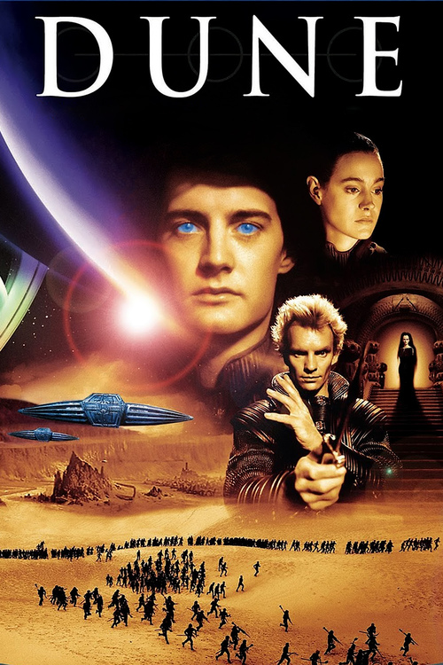 """Poster for the movie """"Dune"""""""