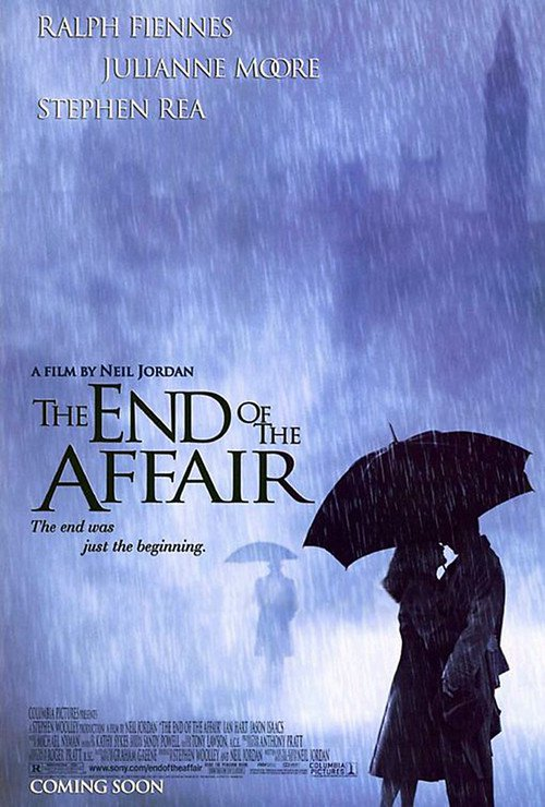 """Poster for the movie """"The End of the Affair"""""""