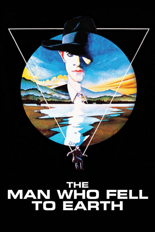 """Poster for the movie """"The Man Who Fell to Earth"""""""