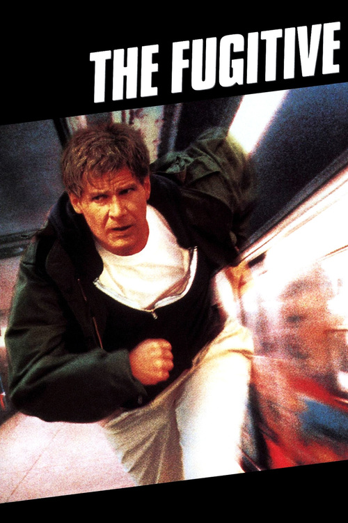 """Poster for the movie """"The Fugitive"""""""