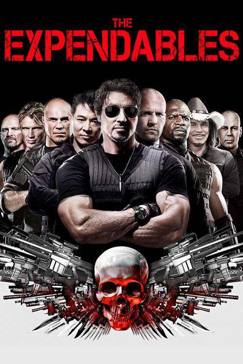 """Poster for the movie """"The Expendables"""""""
