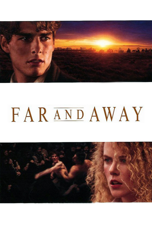 """Poster for the movie """"Far and Away"""""""