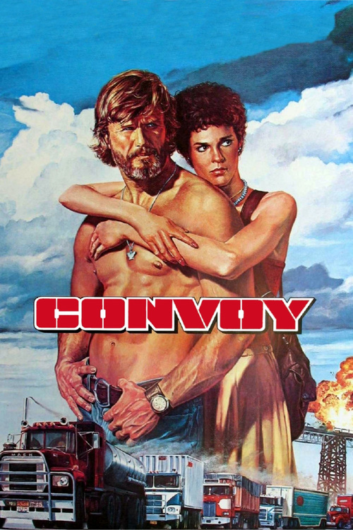 """Poster for the movie """"Convoy"""""""