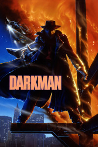 "Poster for the movie ""Darkman"""