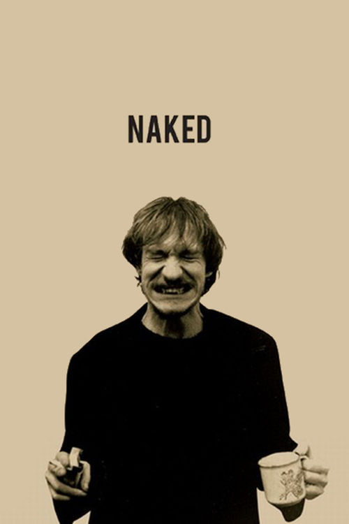 """Poster for the movie """"Naked"""""""
