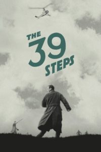 "Poster for the movie ""The 39 Steps"""