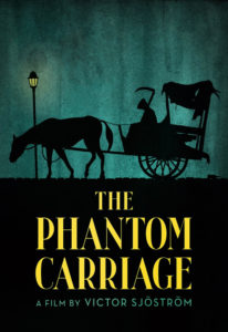 """Poster for the movie """"The Phantom Carriage"""""""
