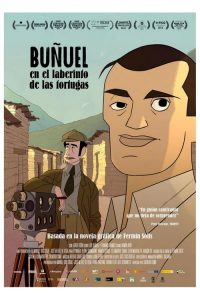 """Poster for the movie """"Buñuel in the Labyrinth of the Turtles"""""""